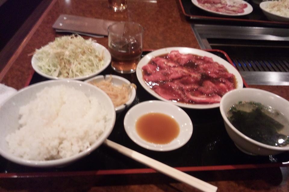 慶州苑の焼肉ランチ