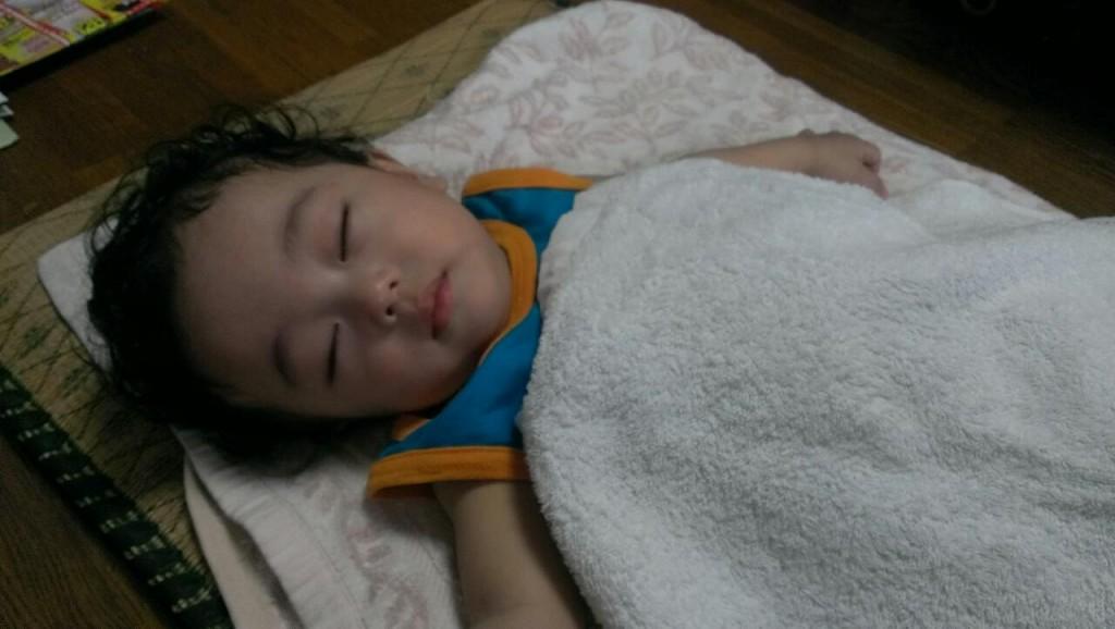 息子の寝顔 マジ天使