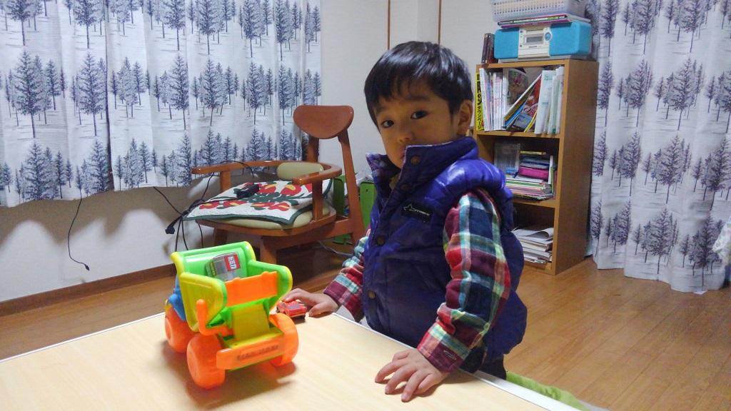 幸之助2歳の誕生日会プレゼント