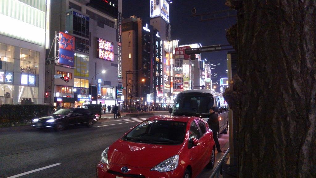 新宿ゴールデン街ロケ