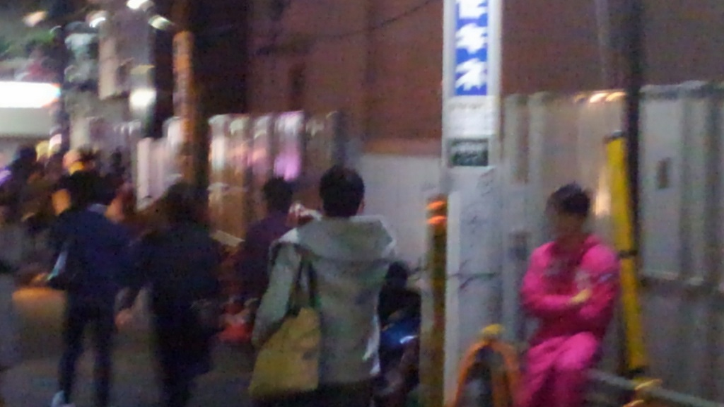 新宿ゴールデン街ロケ ジャニーズ
