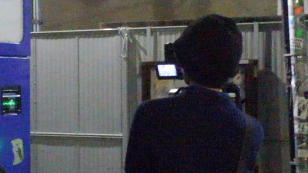 新宿ゴールデン街ロケ カメラマン