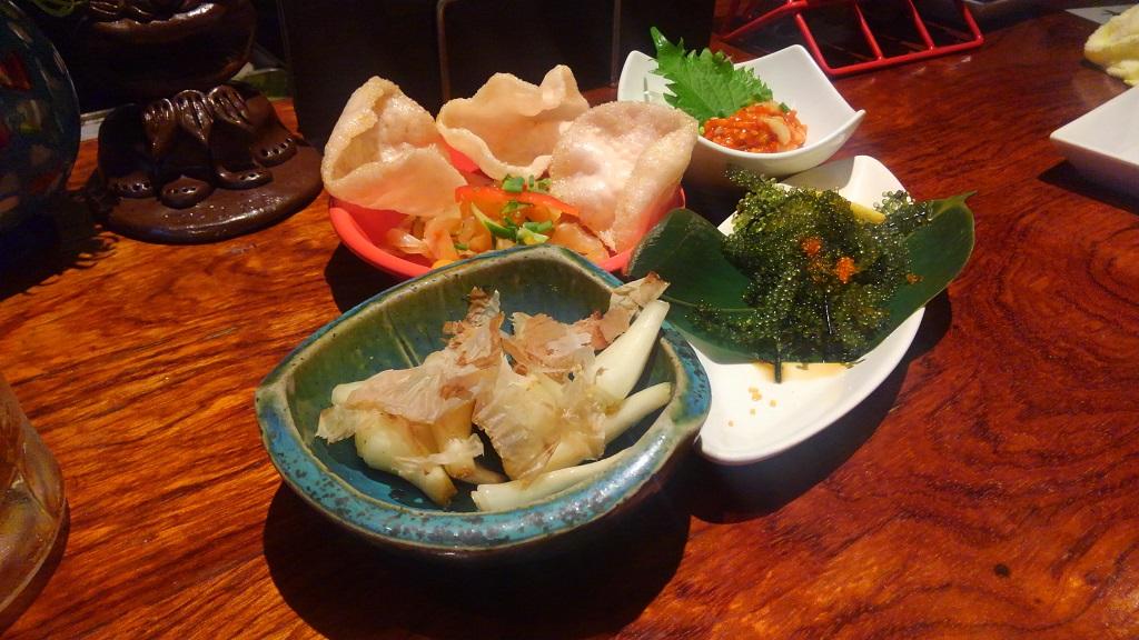 ダーシマさんオススメ沖縄料理うみぶどう