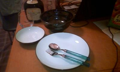 南大沢のアウトレットパーク フランフランバザーの食器