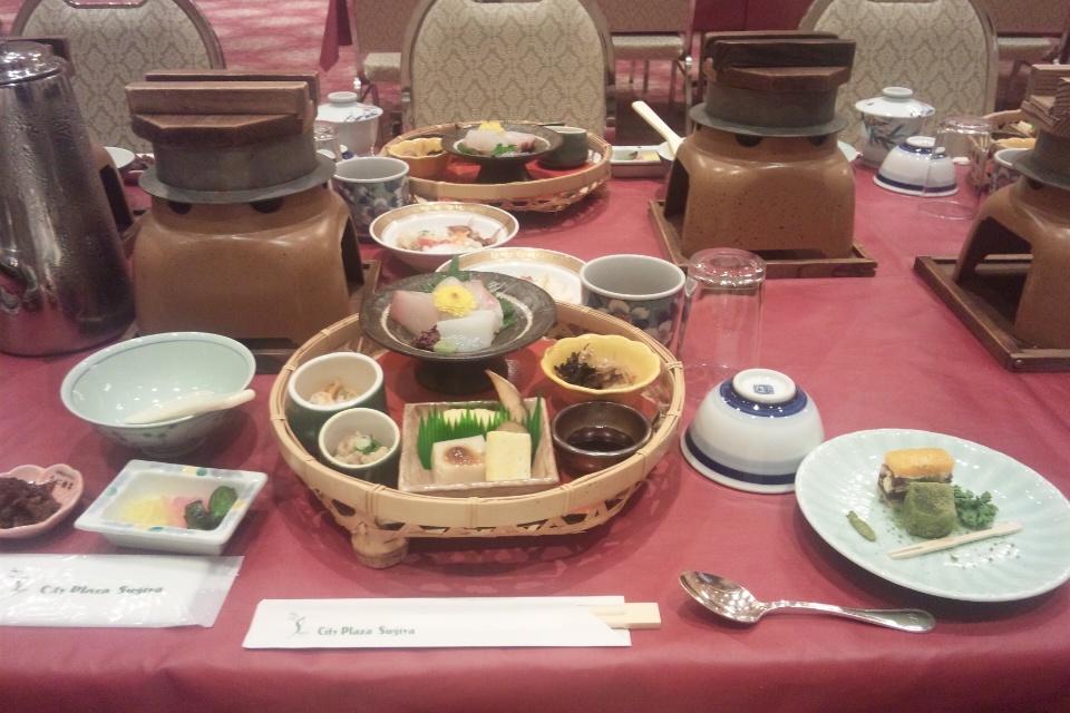 city plaza sugiya の昼食