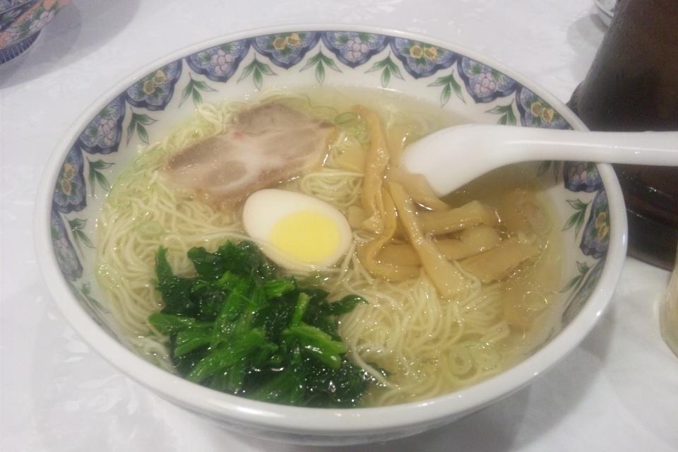 揚州塩柳麺