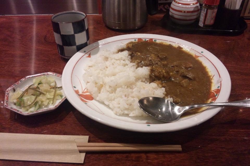 牛たん焼き仙台辺見新横浜店のタンカレー