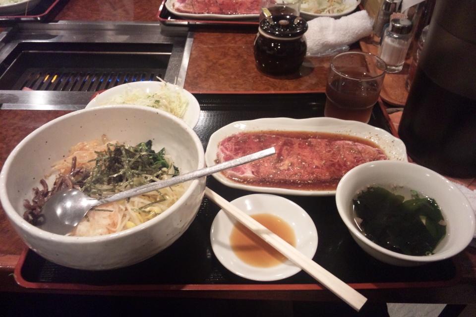 慶州苑とくとくカルビ定食