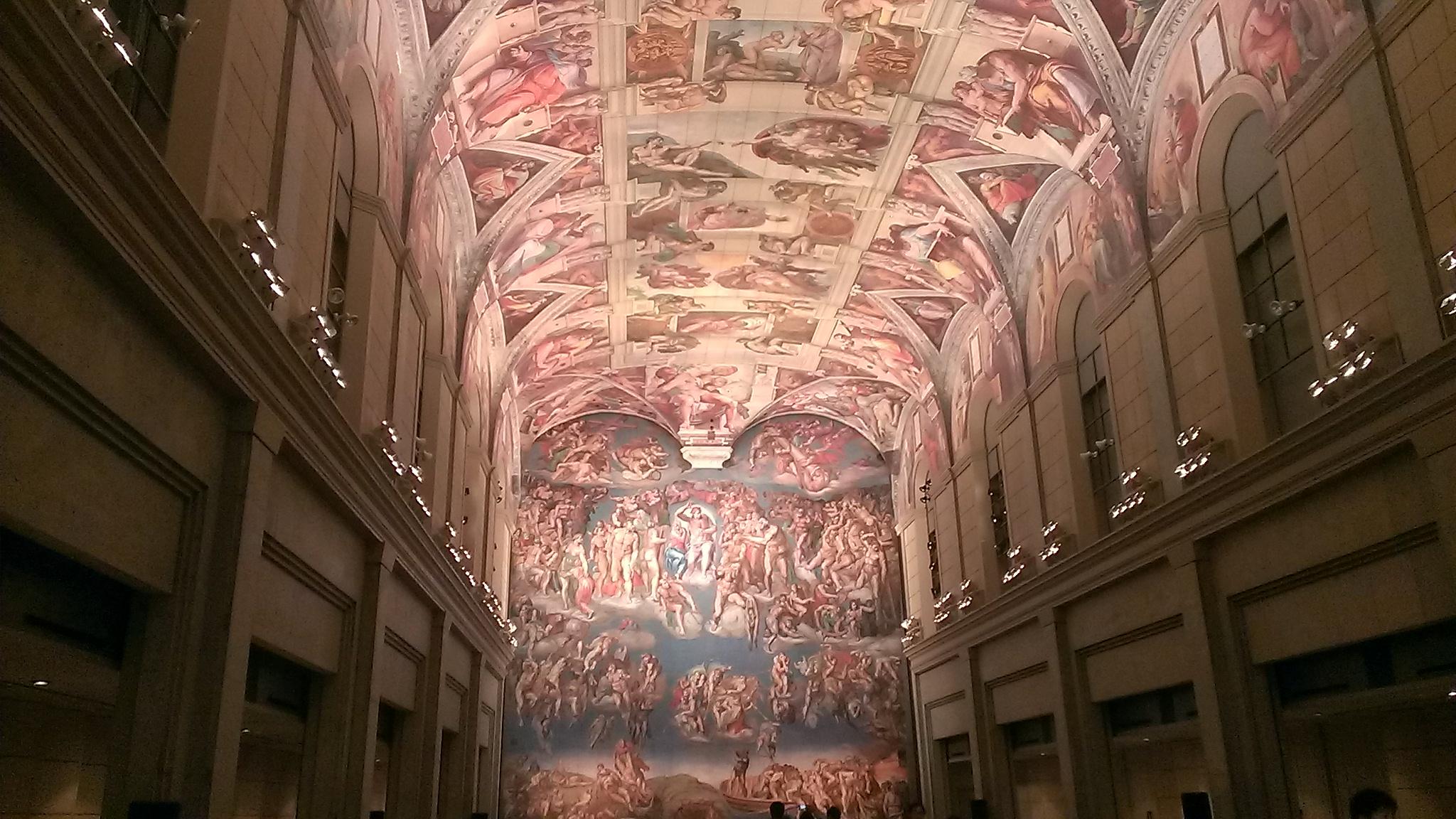 大塚国際美術館の壁画