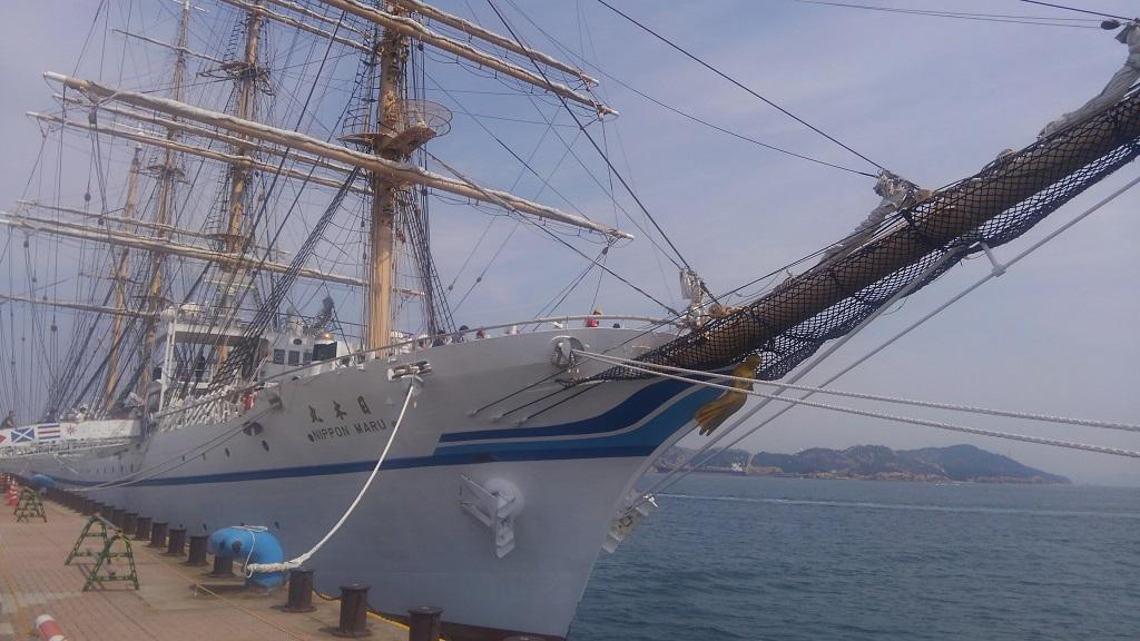 第21回たまの・港フェスティバル 日本丸