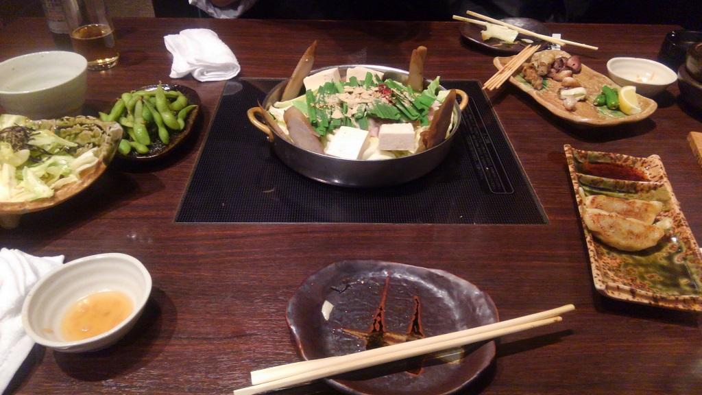 和食Dining黒田のモツ鍋