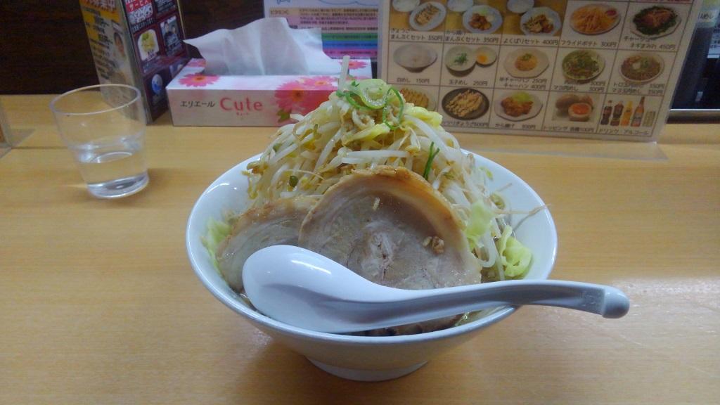 らーめん食楽(にんにく抜き)