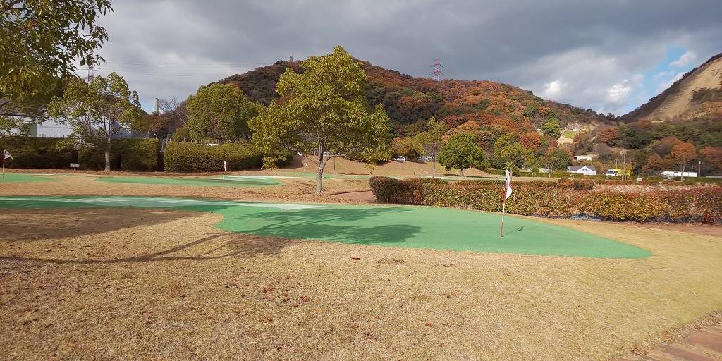 ギガフロート玉野深山公園のパターゴルフ