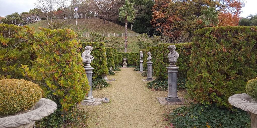 ギガフロート玉野深山公園のイギリス庭園